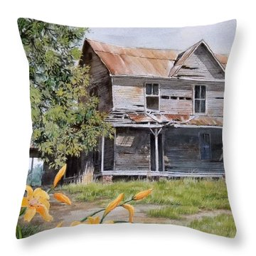 Days Gone By...sold Throw Pillow