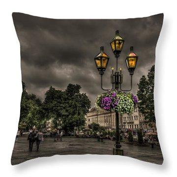 Days Of Thunder Throw Pillow