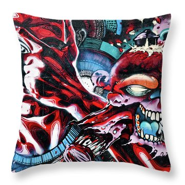 Death And Life Throw Pillow