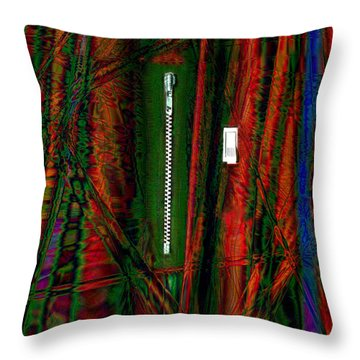 Decisions No. 1 Throw Pillow by Paula Ayers