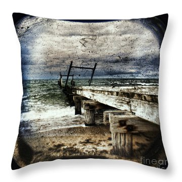 Deconstruction  Throw Pillow by Andrew Paranavitana