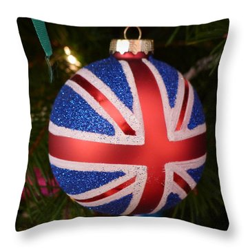 Throw Pillow featuring the photograph Decorate The Union by Richard Reeve