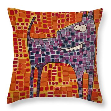 Dee Oh Gee Throw Pillow
