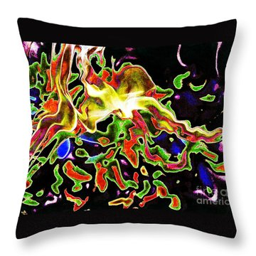 Deep In My Heart... Throw Pillow by Jolanta Anna Karolska