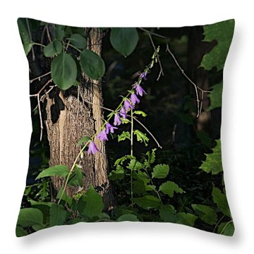 Throw Pillow featuring the photograph Deep by Joseph Yarbrough