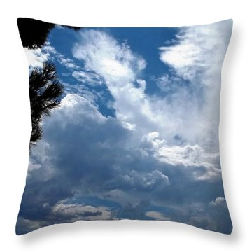 Deep Skies Throw Pillow by Glenn McCarthy Art and Photography