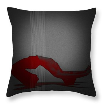 Defiance Throw Pillow by Naxart Studio