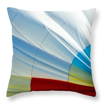 Deflating Throw Pillow