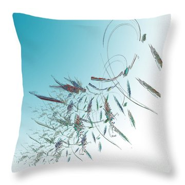Delicate Essence Throw Pillow