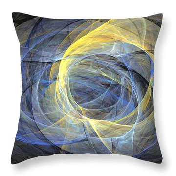 Delightful Mood Of Abstracted Mind Throw Pillow