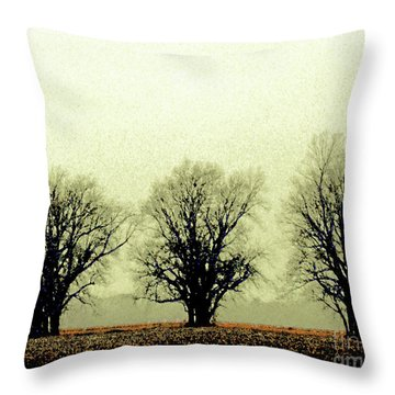 Delta Dust Throw Pillow
