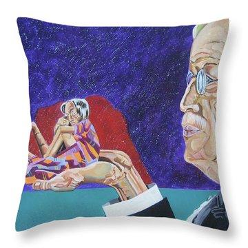 Dementia Throw Pillow by John Keaton