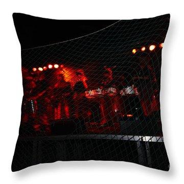 Demon Band Throw Pillow