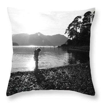 Derwent Throw Pillow by Linsey Williams