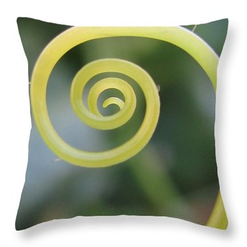 Throw Pillow featuring the photograph Descending Photography by Tina Marie