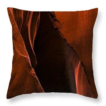 Desert Beam Throw Pillow by Mike  Dawson