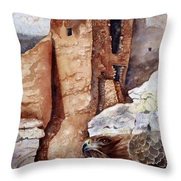 Desert Dwellers Throw Pillow