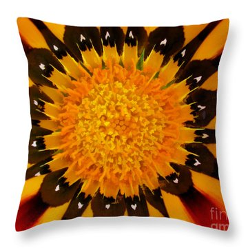 Design In Creation Throw Pillow