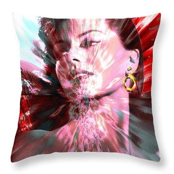 Desiree Throw Pillow by Seth Weaver