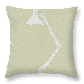 Desk Lamp Throw Pillow by Naxart Studio