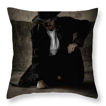 Desperado Throw Pillow by Heather  Rivet