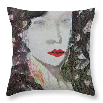 Desperation Throw Pillow by Marwan George Khoury