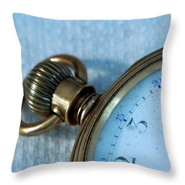 Throw Pillow featuring the photograph Details Of Time 1 by Kay Lovingood
