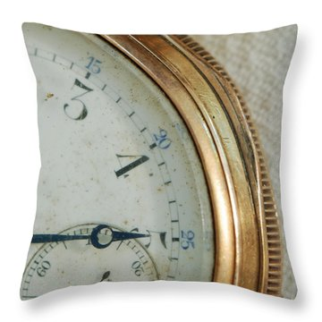 Throw Pillow featuring the photograph Details Of Time 2 by Kay Lovingood
