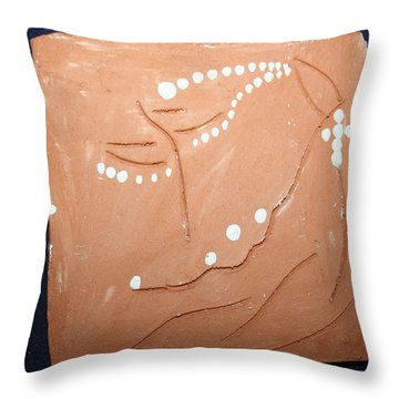 Devotion Throw Pillow by Gloria Ssali
