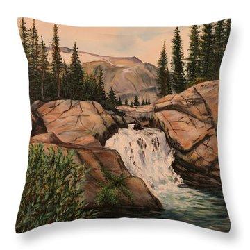Dewey Falls Throw Pillow