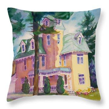 Dewey-radke Glowing Throw Pillow by Kathy Braud