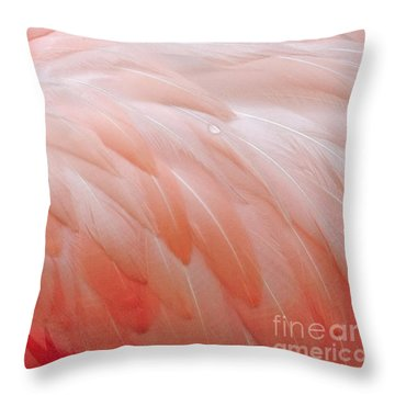 Throw Pillow featuring the photograph Dewy Featherbed by Cindy Lee Longhini