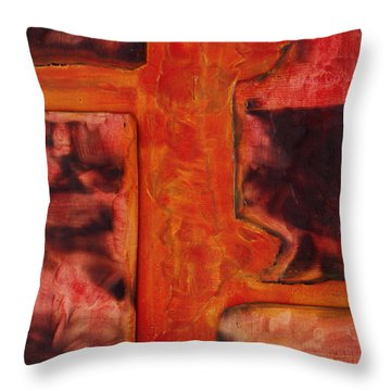 Dialogos 11 Throw Pillow by Jorge Berlato