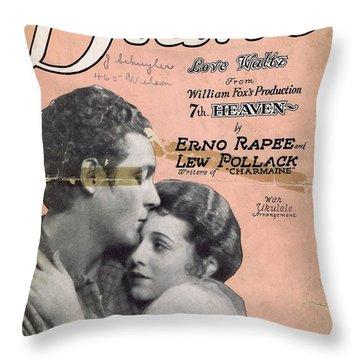 Diane Throw Pillow by Mel Thompson