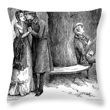 Dickens: Martin Chuzzlewit Throw Pillow by Granger
