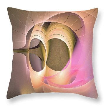 Dies Laetitiae - Abstract Artart Throw Pillow