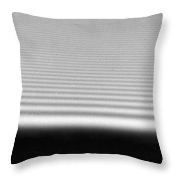 Diffraction Throw Pillow by Omikron