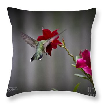 Dig Deep Throw Pillow