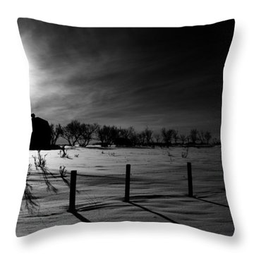 Direction Of Enlightenment  Throw Pillow by Empty Wall