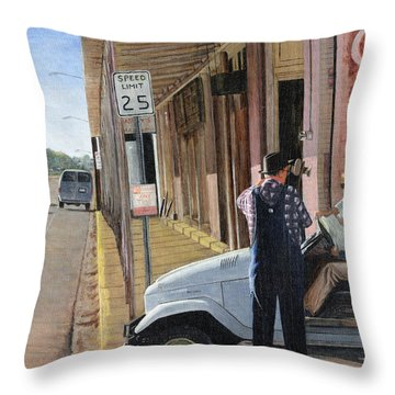 Directions Throw Pillow by Stuart B Yaeger