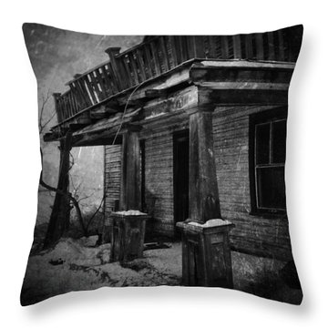 Dirty Thirty  Throw Pillow by Jerry Cordeiro