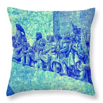 Discoverers Throw Pillow