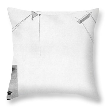 Discovery Of Infrared Radiation In Throw Pillow by Science Source