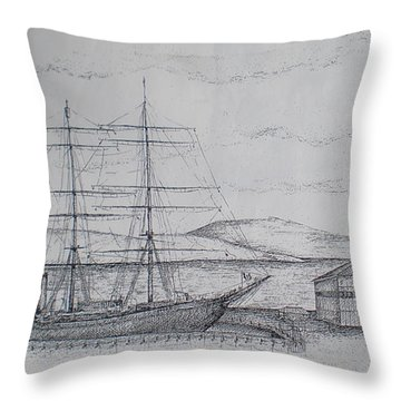 Discovery Throw Pillow by Sheep McTavish