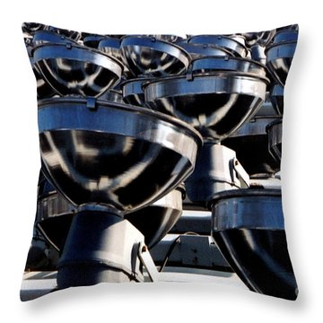 Dismantled Throw Pillow by Susan Stevenson