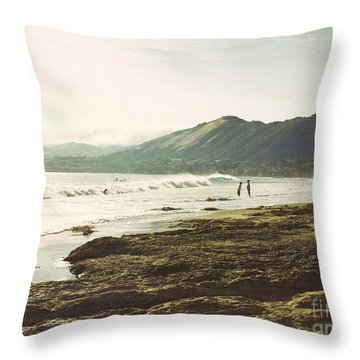 Distant Conversations Throw Pillow
