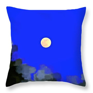 Distortion Throw Pillow by Gwyn Newcombe