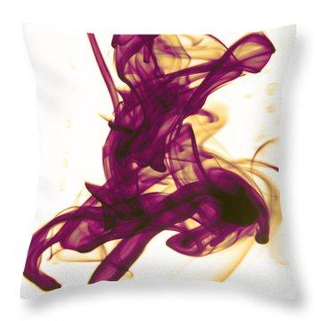 Divine Serenity Throw Pillow by Sumit Mehndiratta