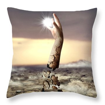 Divine Touch  Throw Pillow