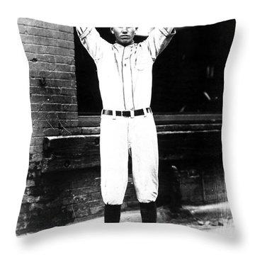 Dizzy Dean (1911-1974) Throw Pillow by Granger